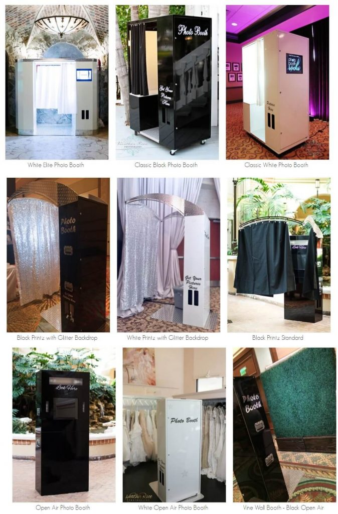 request a quote - photo booth rental