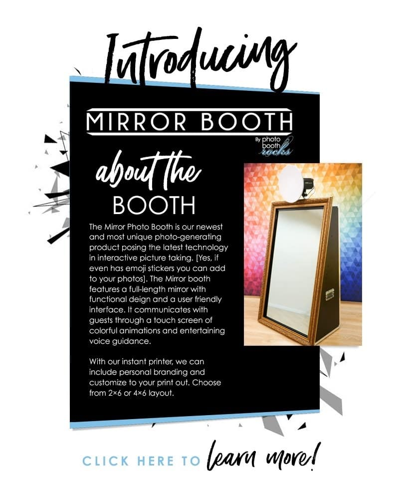 introducing the mirror booth