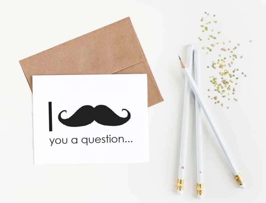 mustache pen