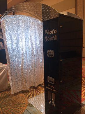 Black Printz with Glitter Backdrop