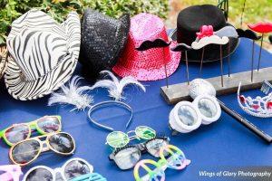 Cypress Grove Estate House Wedding – Classic Black Photo Booth