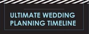 Ultimate Wedding Planning Timeline