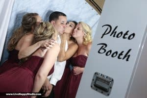 Photo Booth Rocks at the Hyatt Regency – White Printz Booth Style