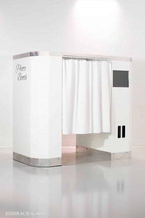 White Elite Photo Booth